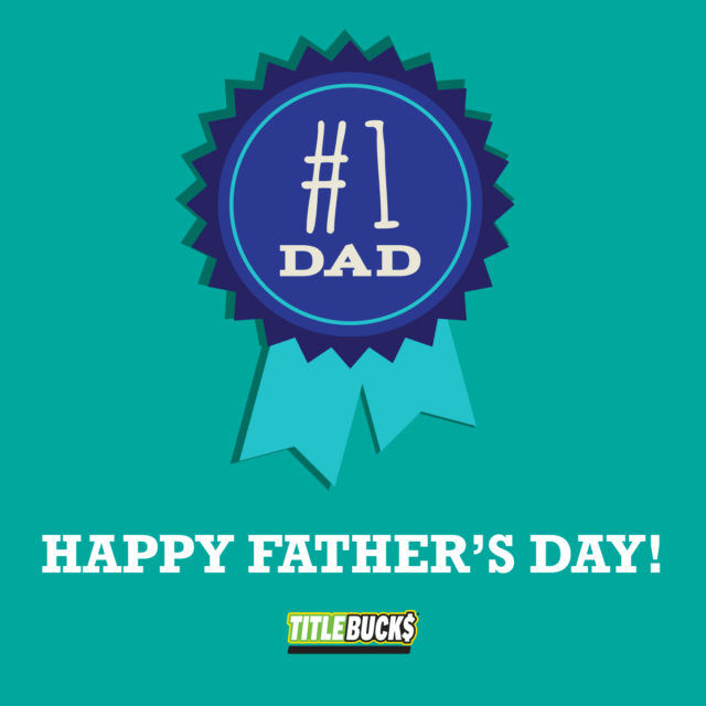 #1 dad ribbon