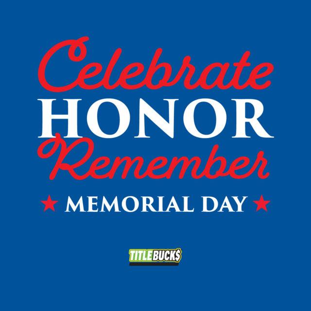 celebrate honor remember