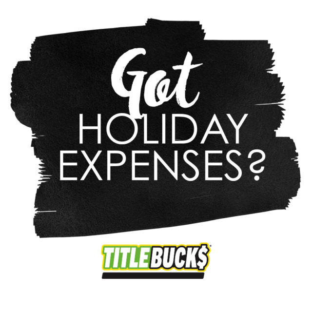 got holiday expenses